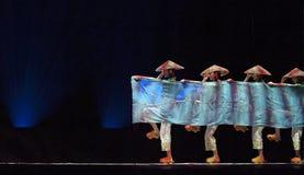 中国民间舞蹈 免版税库存照片