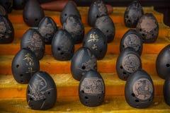 中国民间音乐-荀& x28; 古老音乐instruments& x29; 免版税库存照片
