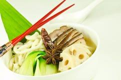 中国汤面 免版税图库摄影