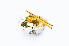 中国汤面 库存图片