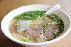 中国汤面 免版税库存照片