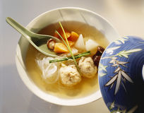 中国汤 免版税图库摄影