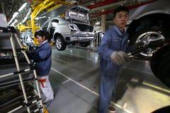 中国汽车制造企业 图库摄影