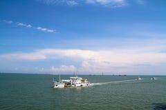 中国海监视巡逻南海 免版税库存图片