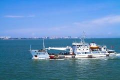 中国海监视巡逻南海 免版税库存照片