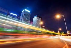 中国深圳夜 免版税图库摄影