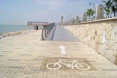 中国深圳海湾横向路 免版税库存图片
