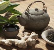 中国清凉茶 免版税图库摄影