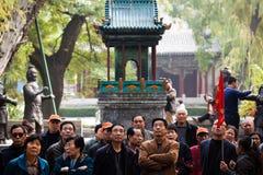 中国游人 库存图片