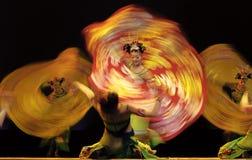 中国滚国民舞蹈演员 库存图片