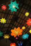 中国灯笼在泰国 免版税库存照片