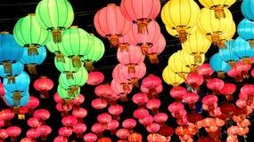 中国灯笼新的传统年 库存图片