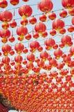 中国灯笼新年度 库存照片