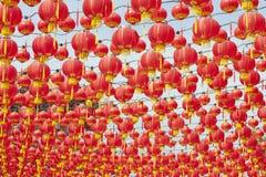 中国灯笼新年度 库存图片