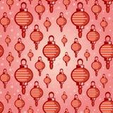 中国灯笼样式 免版税库存照片