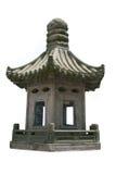 中国灯笼石头 图库摄影