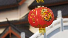 中国灯笼红色 影视素材