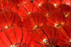 中国灯笼红色 图库摄影