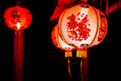 中国灯 库存图片