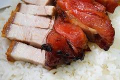 中国烤肉 免版税库存照片