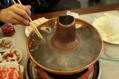 中国热罐 免版税库存照片