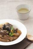 中国烹调、炖牛肉和牛腱 免版税库存照片