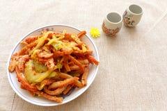 中国烹调开胃菜冷盘 免版税库存图片