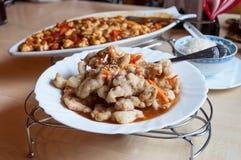 中国烹调 库存图片
