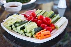 中国照片典型的蔬菜 库存照片