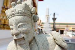 中国玩偶石头 免版税库存照片
