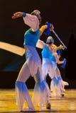 中国现代舞蹈演员 免版税图库摄影