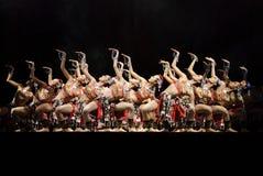 中国现代舞蹈演员 免版税库存图片