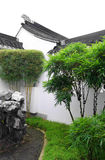 中国现场庭院样式围场 免版税库存图片