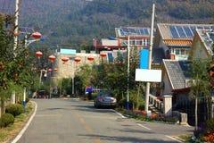 中国的农村风景 免版税库存图片