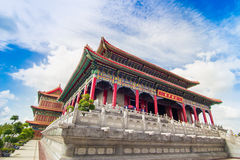 中国的历史的建筑学 免版税库存照片