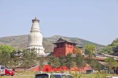 中国的山西雾台 库存照片