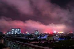 中国的广西省,一个著名旅游城市,贺州市 免版税库存图片