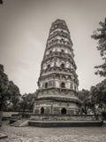 中国的斜塔 库存照片