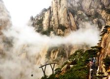 中国的泰山 库存图片