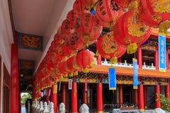 中国的红色灯 免版税库存图片