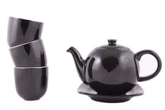 中国的红茶套 库存照片