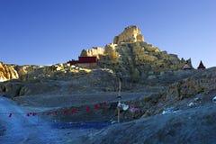 中国的西藏风景 库存照片
