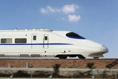 中国的高速火车 库存照片