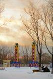 在雪以后 免版税图库摄影