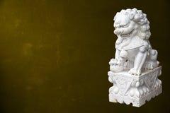 中国皇家狮子 库存照片