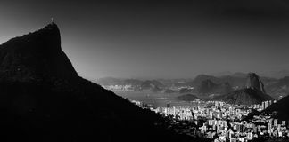从中国看法& x28的著名看法; 景色Chinesa& x29;一个著名观点在里约热内卢 免版税库存图片