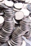 中国硬币 免版税库存照片