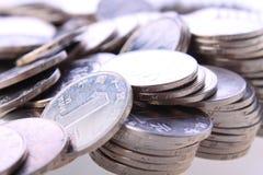 中国硬币 库存照片