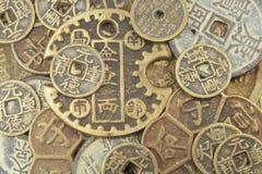 中国硬币 免版税图库摄影