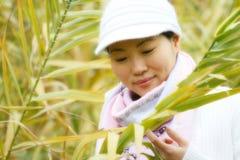 中国确信的妇女 免版税库存图片